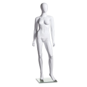 "Abstract Fiberglass Female Mannequin (Style ""A"")"