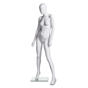 "Abstract Fiberglass Female Mannequin (Style ""D"")"