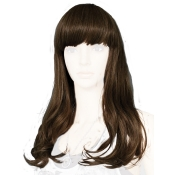 Brunette Female Wig Long Length