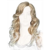 Blonde Female Wig Wavy Long Length