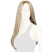 Blonde Female Wig Straight Long Length