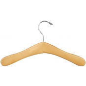 Wood Children's Dress Hanger (Natural)