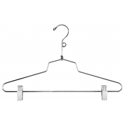 "16"" Metal Combination Hanger with Loop"