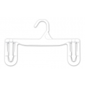 "11"" Economy Skirt and Pant Hangers (250-pack)"