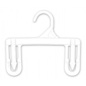 "8"" Children's Economy Skirt and Pant Hangers (250-pack)"