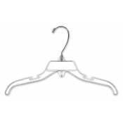 "12"" Children's Break-Resistant Plastic Dress Hangers (100-pack)"