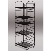 5-Tier Arc Rack (Black)