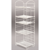 5-Tier Arc Rack (White)