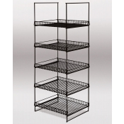 Double-Sided Merchandiser (Black)