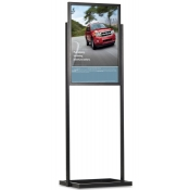 Luxe Frame Poster Display ( 1-Tier - 2-Sided )