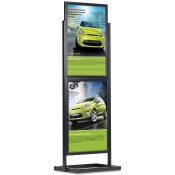 Luxe Frame Poster Display ( 2-Tier - 2-Sided )
