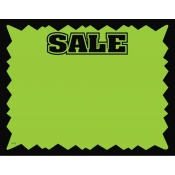 "Hi-Impact ""Sale"" Sign Card"