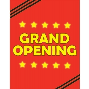 """Grand Opening"" Poster"