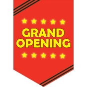 """Grand Opening"" Pennant"