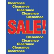 """Clearance Sales"" Poster"