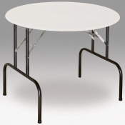 Round Folding Table (White)