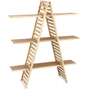 3-Tier A-Frame Shelf Displayer