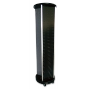 Pegboard 4 Sided Rotating Tower (Black)