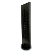 Pegboard 2-Sided Rotating Tower (Black)