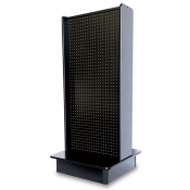 Pegboard 2-Sided Streamline Display (Black)