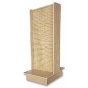 Pegboard 2-Sided Streamline Display (Maple)