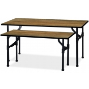 Pipe Rack - Large Nesting Table (Matte Black)