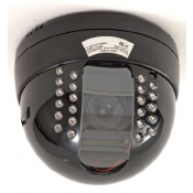 Indoor Dome Color Ccd Camera W/ 30ft Night Vision, 6Mm Lense