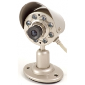 B/W Indoor Cmos Camera W/ Audio & Night Vision