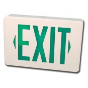 "Black & White ""Exit Sign"" Camera"