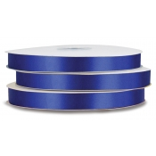 Double-Face Satin Polyester Ribbon (Cobalt)