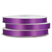Double-Face Satin Polyester Ribbon (Ultra Violet)