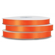 Double-Face Satin Polyester Ribbon (Torrid Orange)