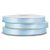 Double-Face Satin Polyester Ribbon (Blue Topaz)
