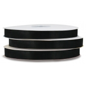 Organza Polyester Ribbon (Black)