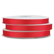 Grosgrain Polyester Ribbon (Red)