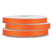 Grosgrain Polyester Ribbon (Russet Orange)