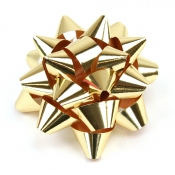 Gold Star Bows (Medium)