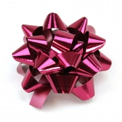 Fuschia Star Bows (Medium)
