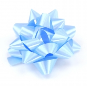 Blue Star Bows (Medium)