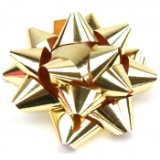 Gold Star Bows (Large)