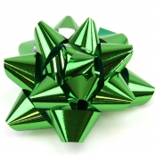 Green Star Bows (Large)