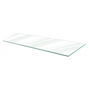 "Clear Tempered Glass Shelf - 12"" X 36"" (5-pack)"