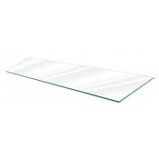 "Clear Tempered Glass Shelf - 14"" X 36"" (5-pack)"
