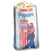 (Plain White) Popcorn Bag/X-Lg/1000Bx