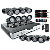 16 Channel / 16 Camera Surveillance System