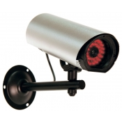 Fake Security Camera with 30 Infrared LEDs