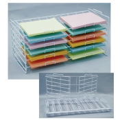 "Folding Scrapbook Paper Rack (12"" X 12"" Slots)"