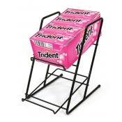 2-Tier Slant Back Rack (Black)