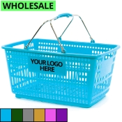 Wholesale Prestige Line Shopping Baskets with Comfort Grip Handles (Jumbo-Size)