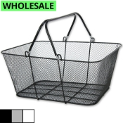 Wholesale Wire Mesh Shopping Baskets